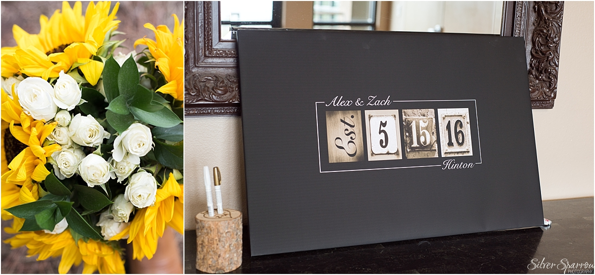 Wedding Decor Sunflowers