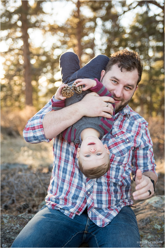 fun family photos denver colorado - best family photographers