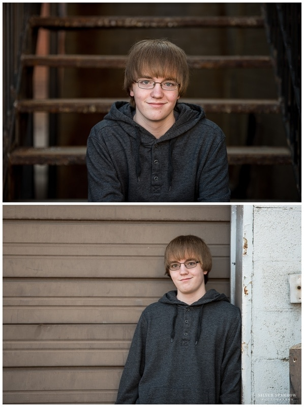 Downtown Littleton Colorado - Senior Photo