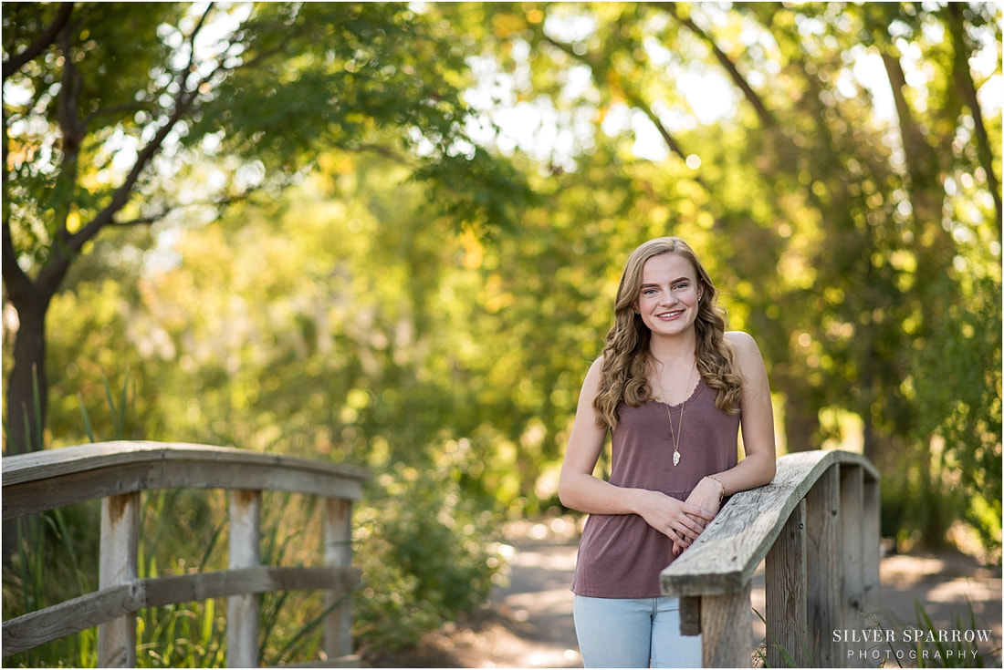 Littleton Senior Photographer - Silver Sparrow Photography - Hudson Gardens