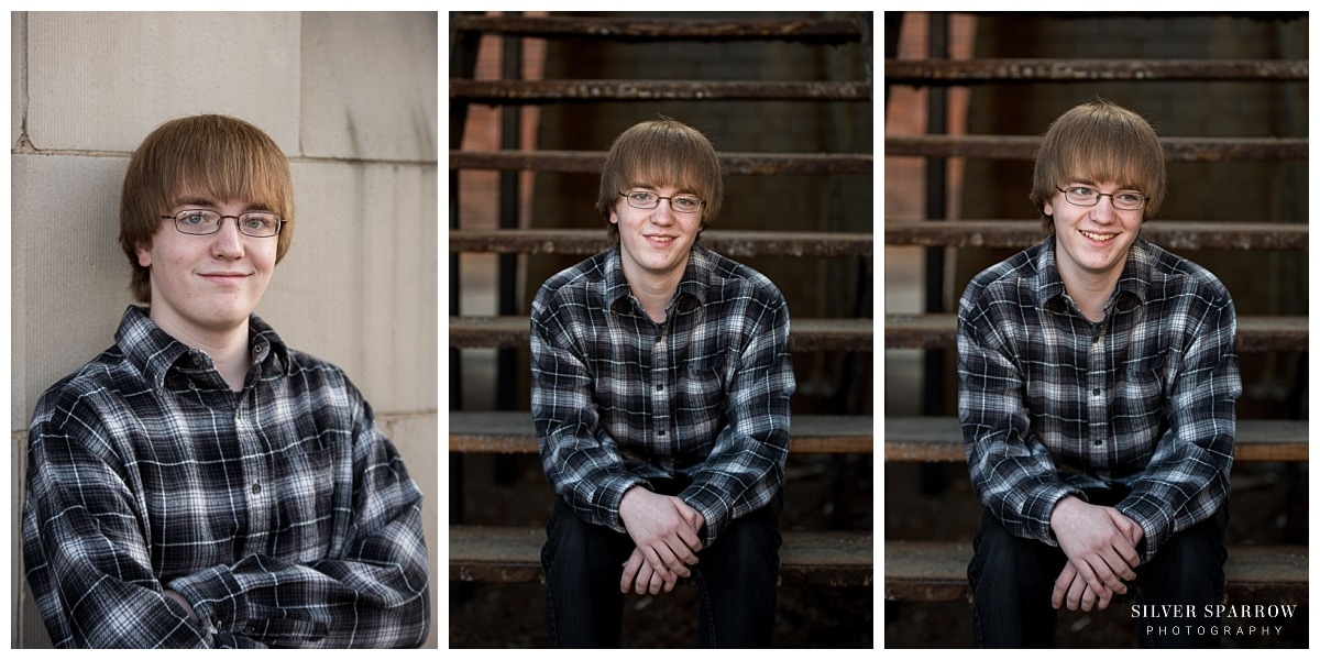 Downtown Littleton Senior Photo